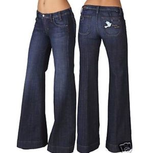 Anthro Freedom of Choice Fillmore Patched Jeans